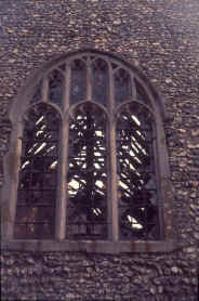 The east window after the fire